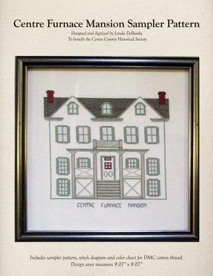 Centre Furnace Mansion Sampler Pattern - 9 inch.