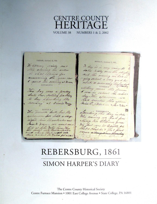 Centre County Heritage 2002 - Rebersburg 1861