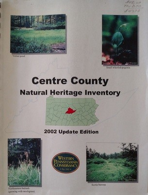 Centre County Natural Heritage Inventory