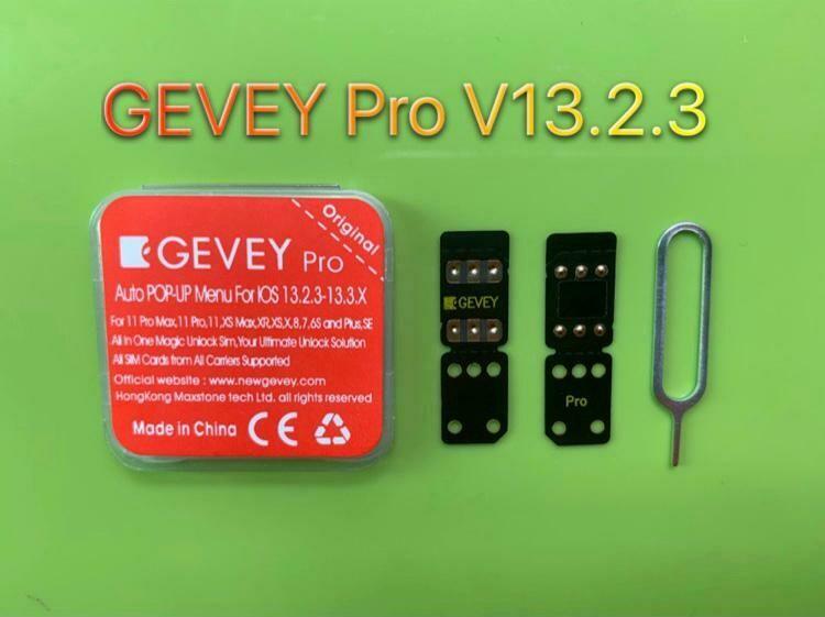 5PC GEVEY Pro V13.2.3 iOS13.2.X