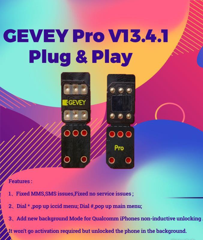 Gevey Pro SIM 13.4.1 (Free DHL)