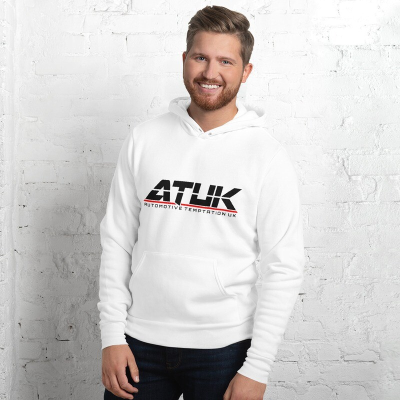 ATUK Originals Lightweight Hoodie White