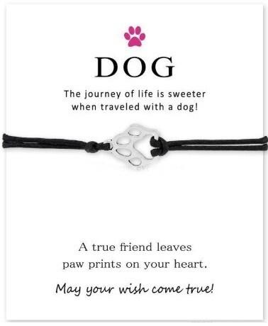 DOG LOVER FRIENDSHIP CHARM BRACELET
