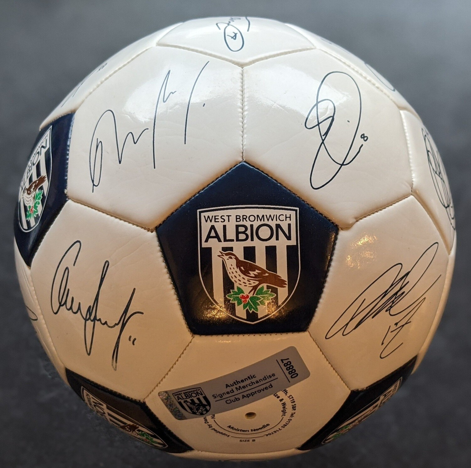 WEST BROMWICH ALBION SIGNED FOOTBALL