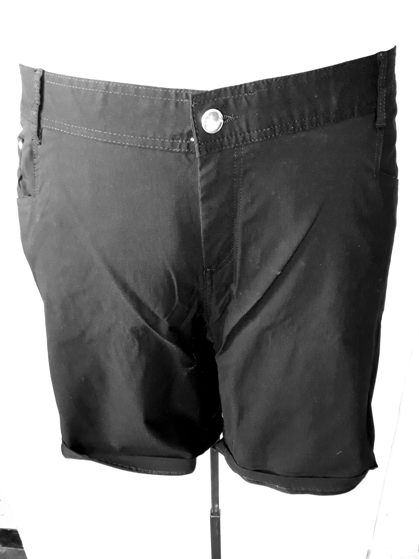 5xl-es 56-os sztreccses térd nadrág fekete