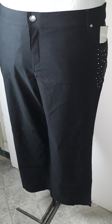 58-as 6xl-es strasszköves  sztreccses szövet nadrág