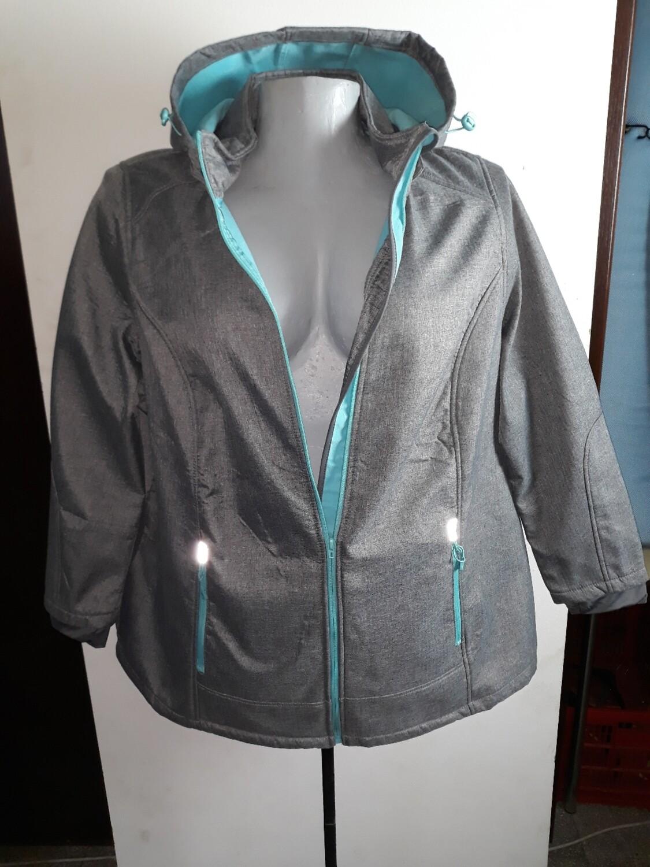 56-os 5xl-es polár bélésű víz és szél álló kabát