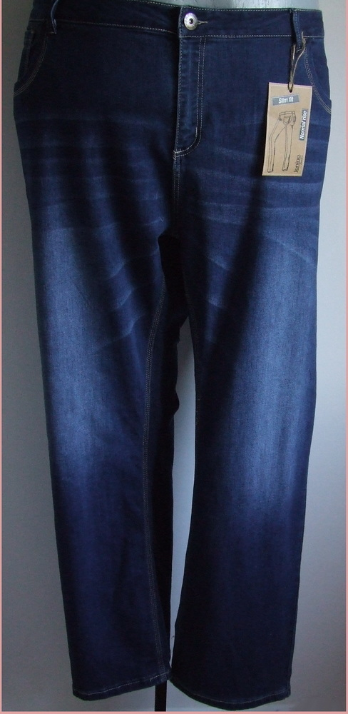 56-os divatos csőfazonú farmernadrág