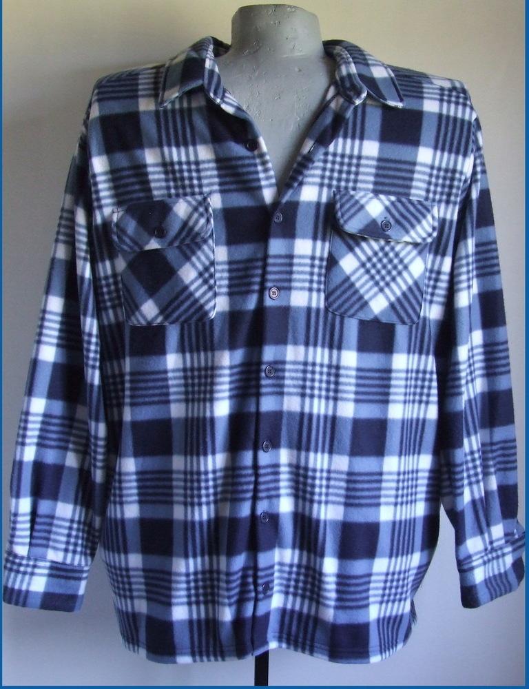5xl 72/74 nagyméretű téli flanel ing férfiaknak
