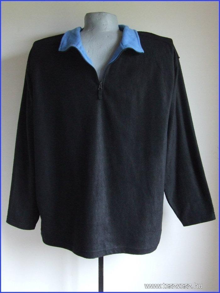 4xl 64/66 nagyméretű polár jellegű pulóver férfiaknak
