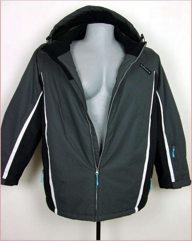 52-es nagyméretű funkciónális téli kabát