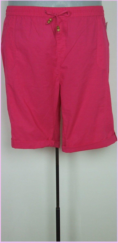 56-os 5XL-es csinos térdig érő pamutvászon nadrág