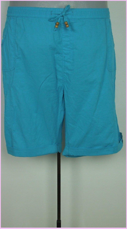 58-as 6XL-es csinos térdig érő pamutvászon nadrág