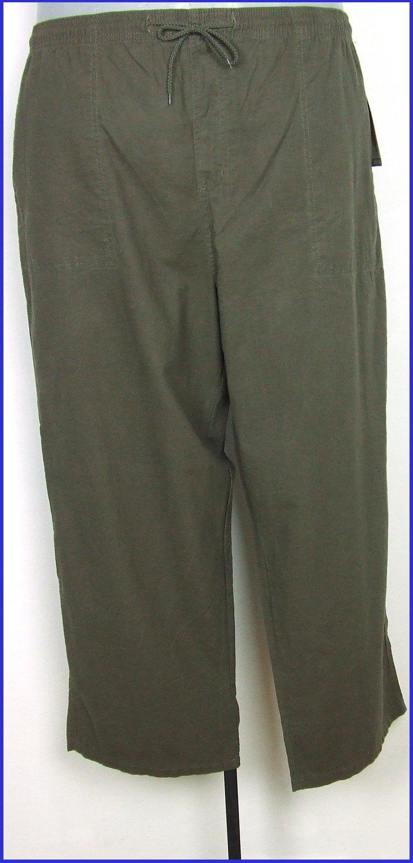 3XL-es 62/64-es nagyméretű férfi pamutvászon nadrág