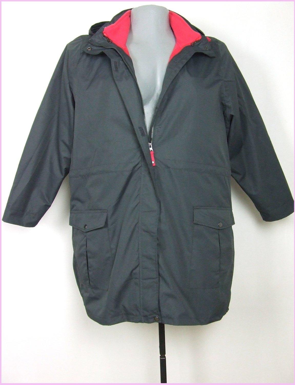 50-es 2XL-es szélálló, vízhatlan 3 az 1-ben kabát kapucnival