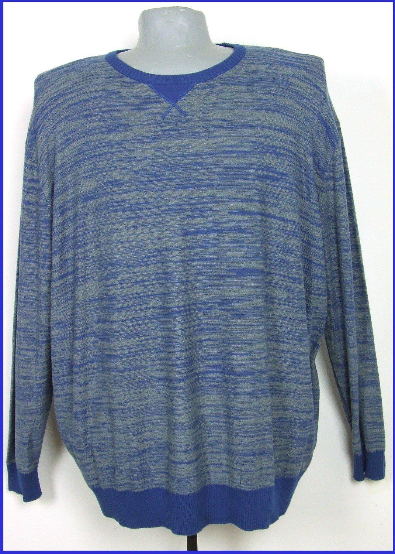 5XL-es 72/74-es vékony kötésű pamut pulóver férfiaknak