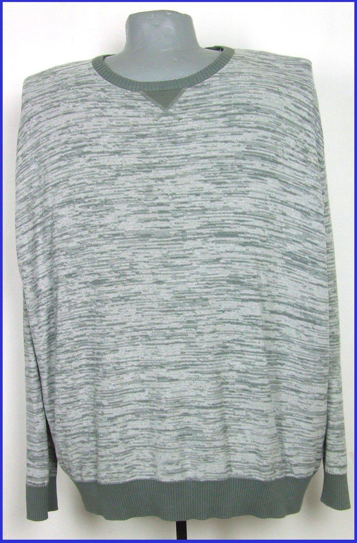 6XL-es 76/78-as vékony kötésű pamut pulóver férfiaknak
