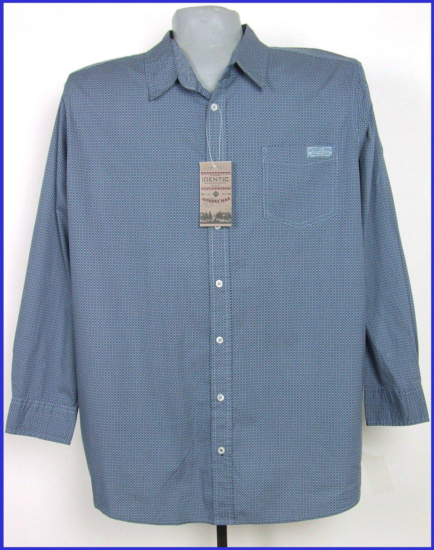 4XL-es 68/70-es nagyméretű hosszú ujjú pamut ing