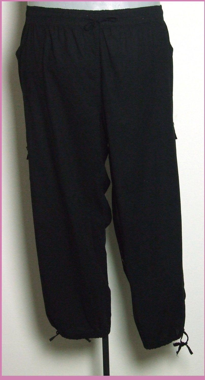 5XL-es 56-os nagyméretű csinos pamutvászon nadrág