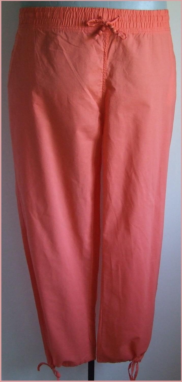58-as nagyméretű csinos pamutvászon nadrág