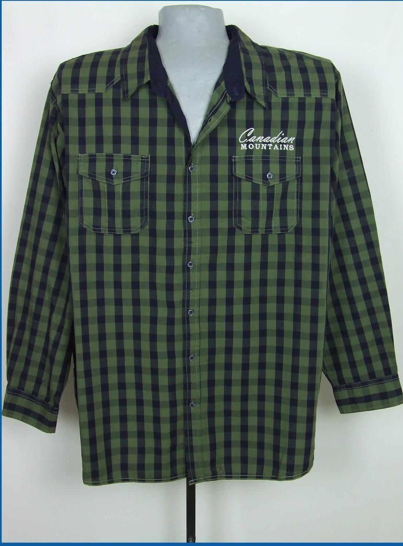 6xl 53/54 nagyméretű kockás férfi ing