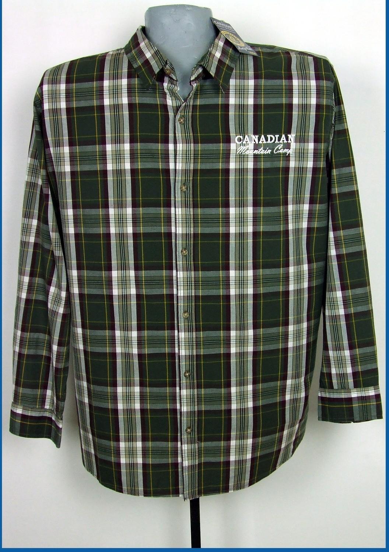 6xl 53/54 extra méretű kockás férfi ing