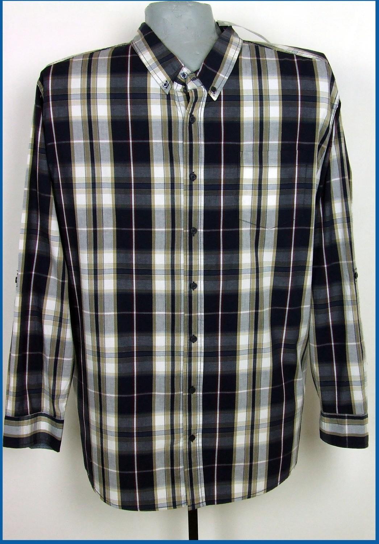 6xl 53/54 extra méretű felgombolható ujjú férfi ing