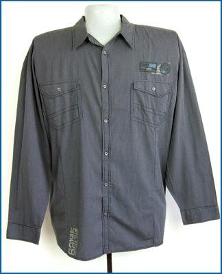 6xl 53/54 nagyméretű divatos férfi ing