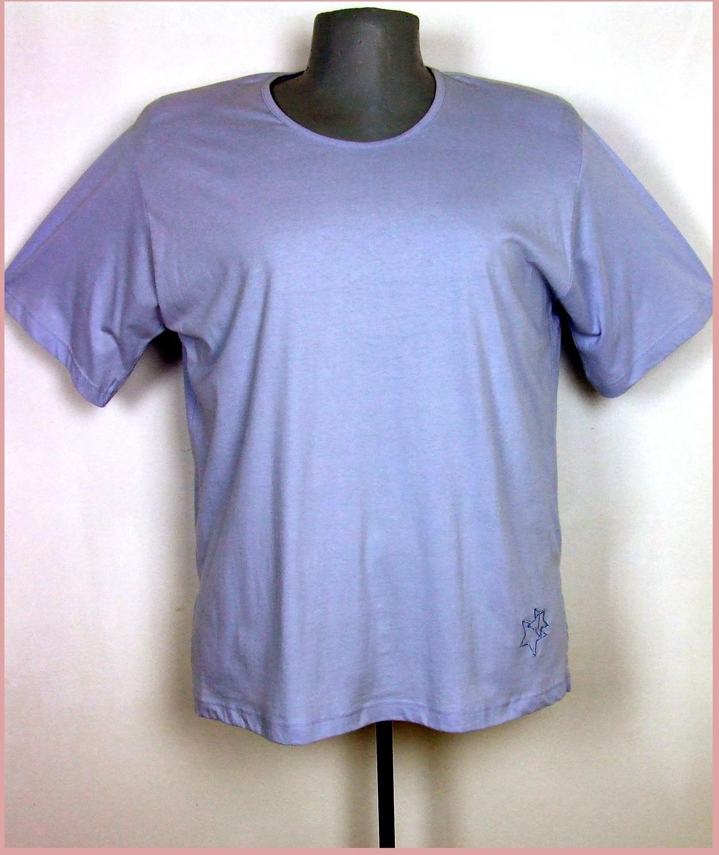 3XL 50/52 nagyméretű rövid ujjú pamut póló