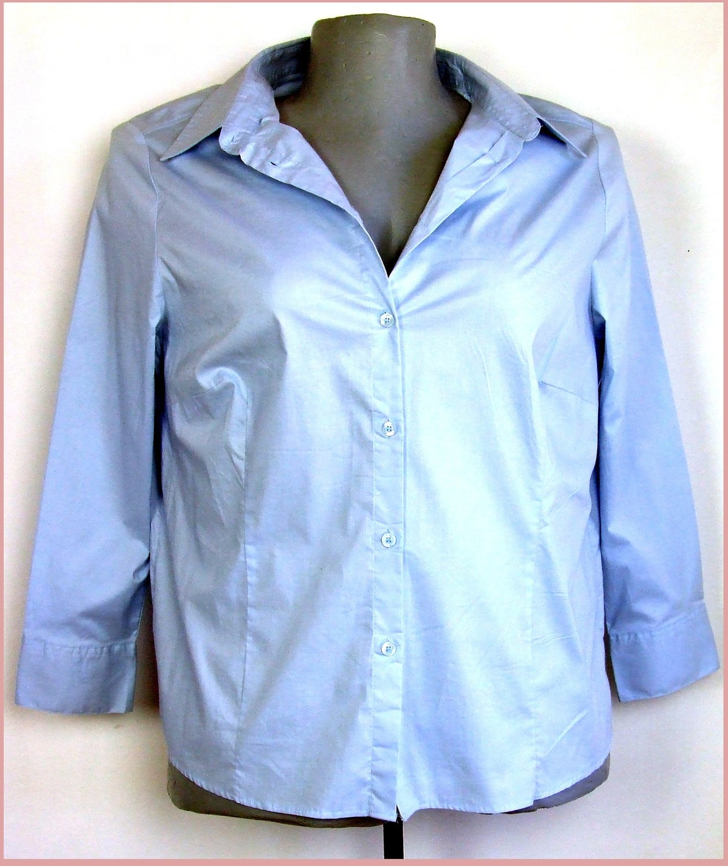 3XL 50/52 nagyméretű hosszú ujjú sztreccs ing