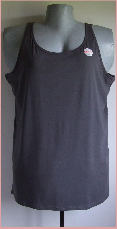 5xl 54/56 nagyméretű hosszított pamut trikó