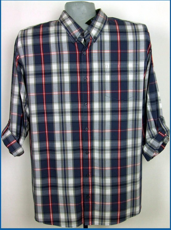 5xl 51/52 extra méretű felgombolható ujjú férfi ing
