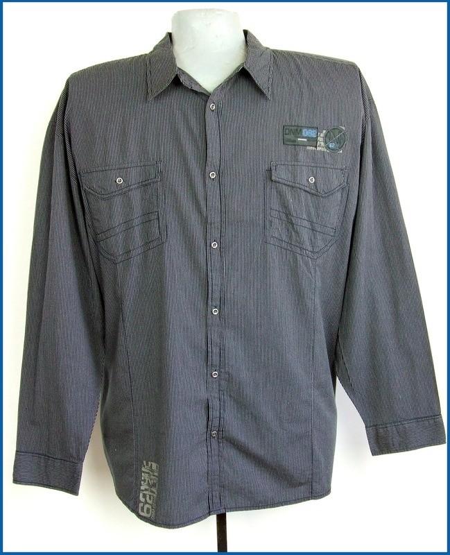 5xl 51/52 nagyméretű divatos férfi ing