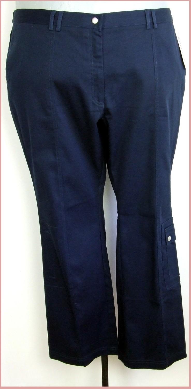 3XL 50/52-es trapézos szárú oldalzsebes nadrág