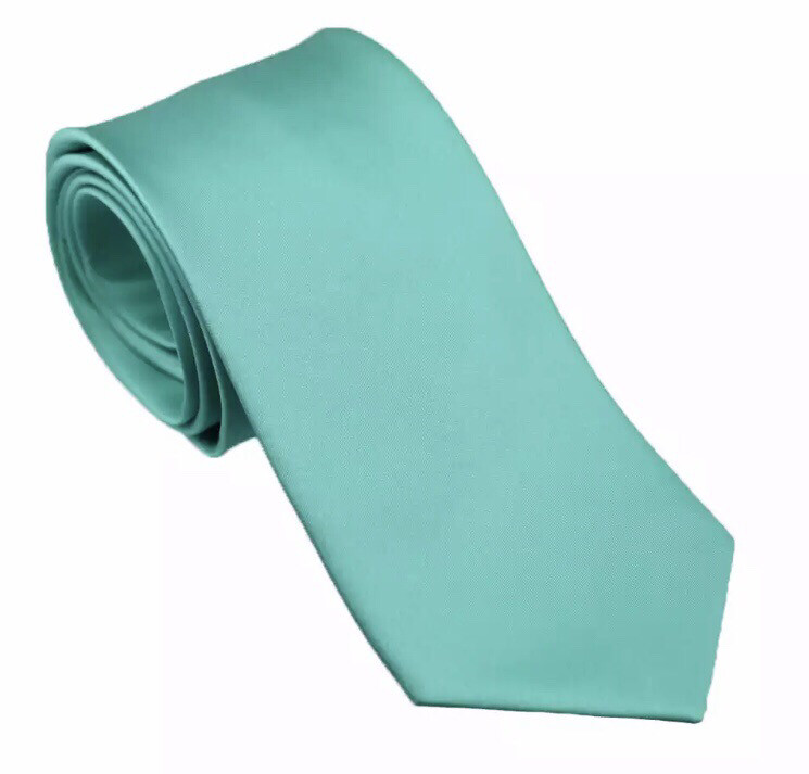 Krawatte breit türkis