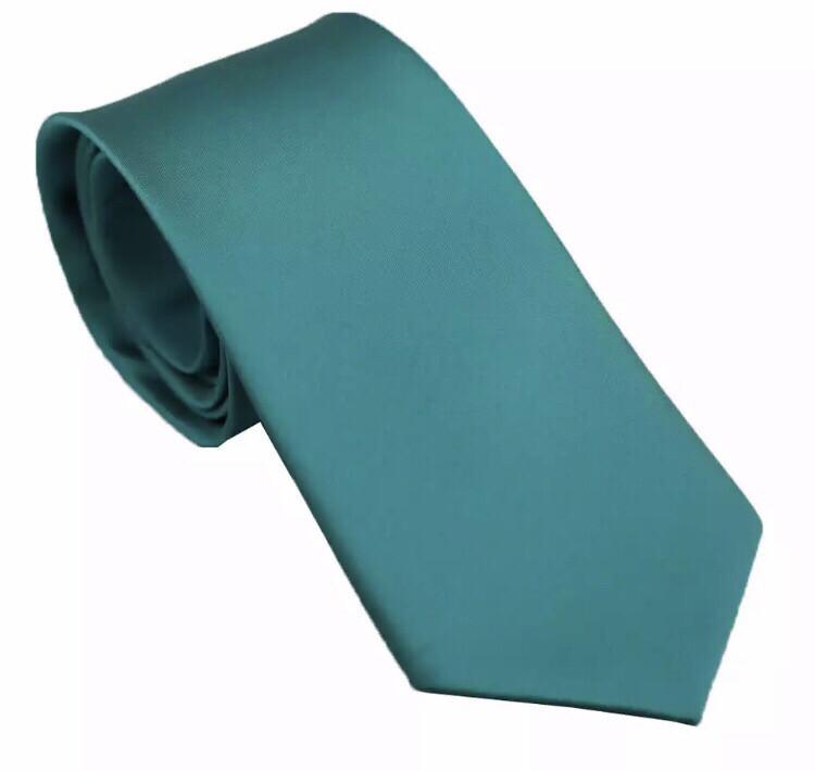 Krawatte breit petrol