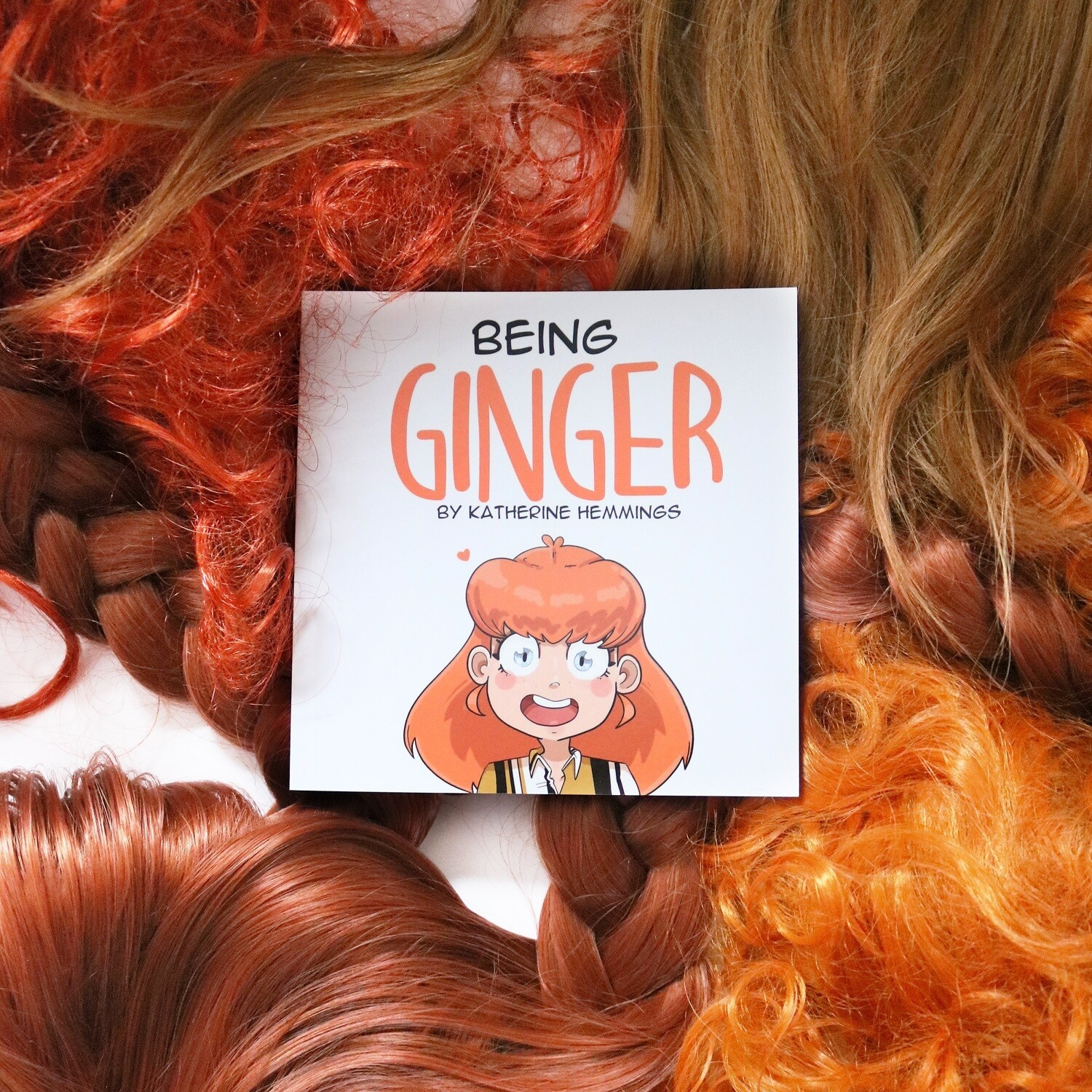 'Being Ginger' Comic Book by Katherine Hemmings