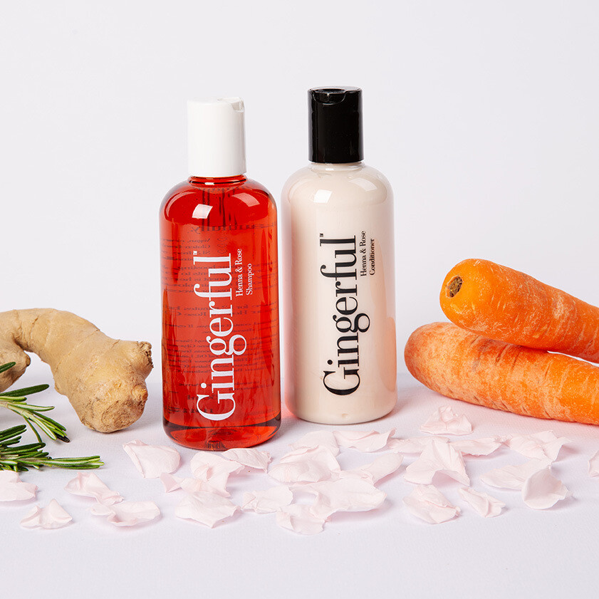 Henna & Rose Shampoo + Conditioner Bundle