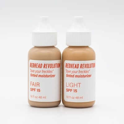 'Love Your Freckles' Tinted SPF Moisturiser For Redheads