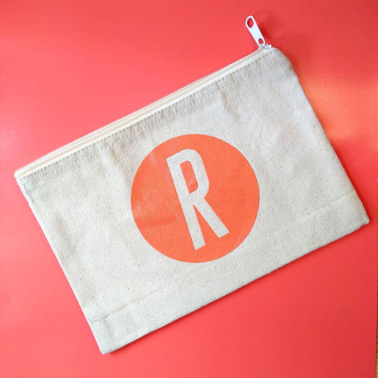 Retro Redhead Make-Up Bag