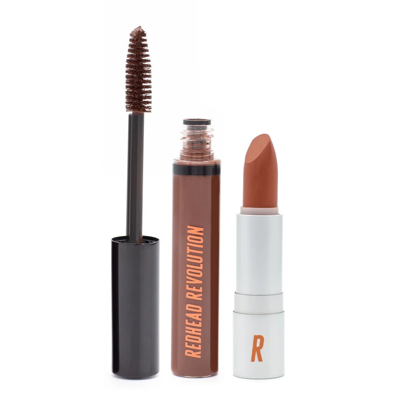 Mascara + Lipstick Bundle For Redheads