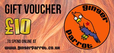 Ginger Parrot Gift Voucher
