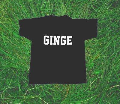 'GINGE' T-Shirt in Black