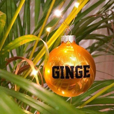 'GINGE' Christmas Bauble