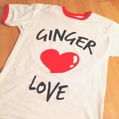 'Ginger Love' T-Shirt