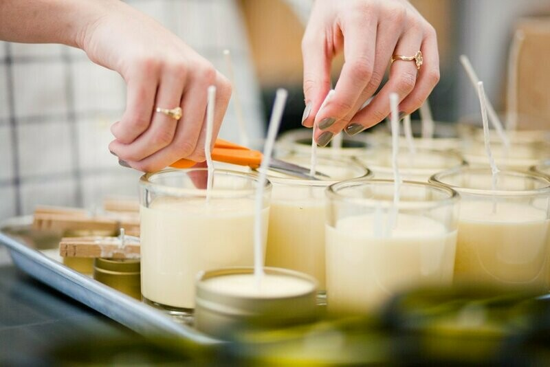 Candle Making Workshop with Lunch-  Various Dates and Venues
