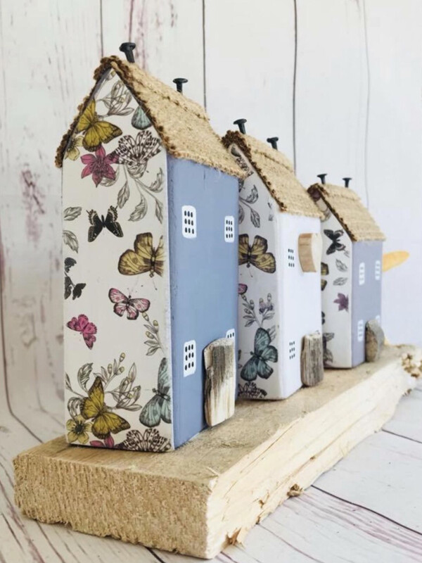 Little Wooden Houses Workshop with Tea and Cake- Various Dates and Venues