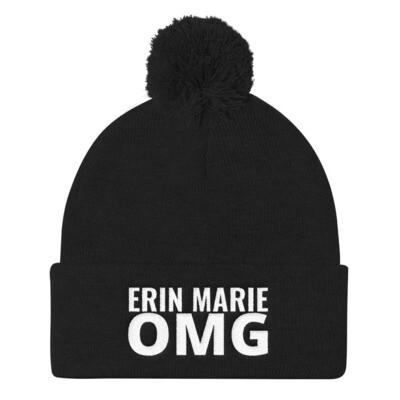 Erin Marie OMG Pom Pom Knit Cap