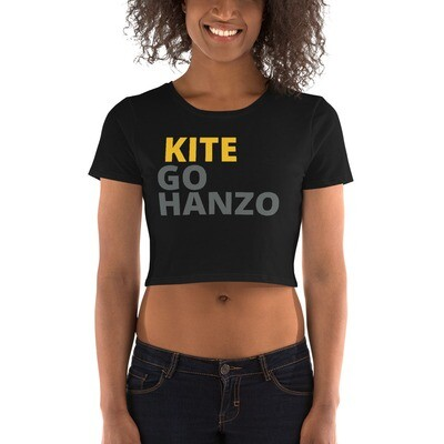 Women's Kite, Go Hanzo Crop Tee