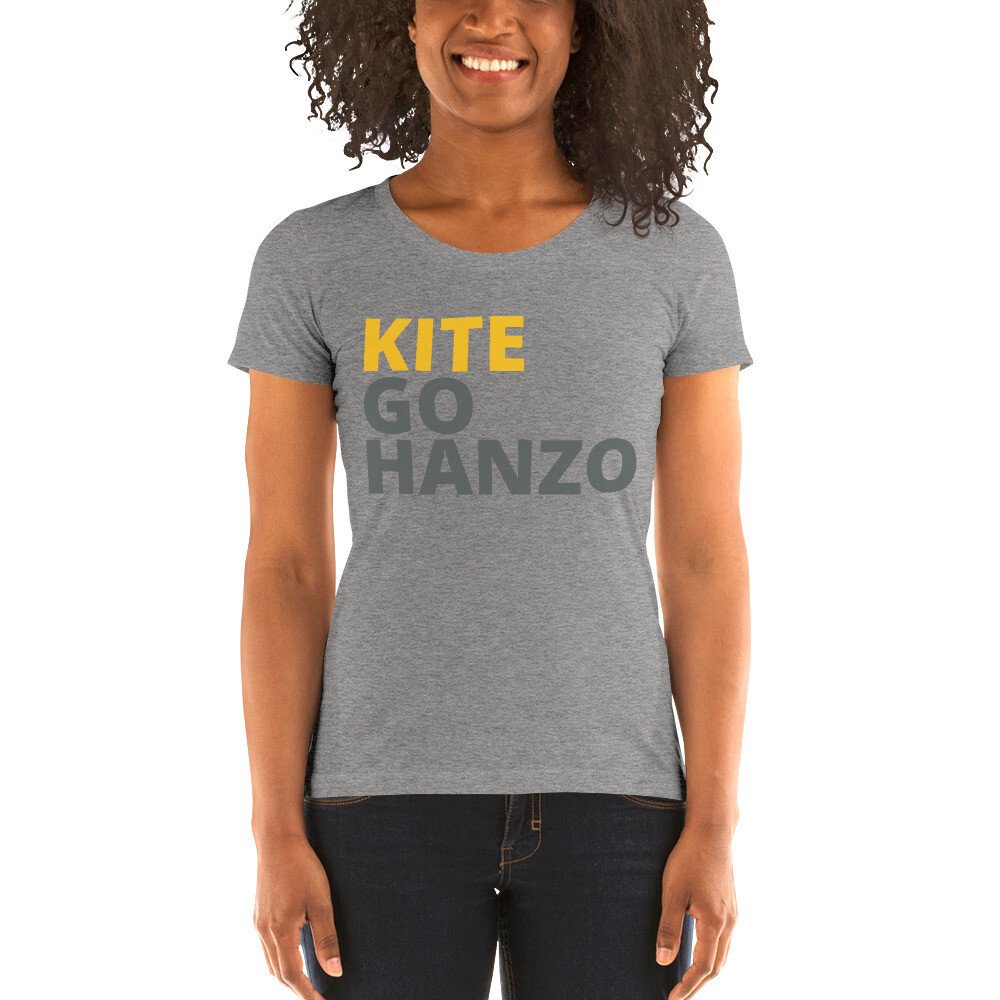 Ladies' short sleeve Kite, Go Hanzo t-shirt